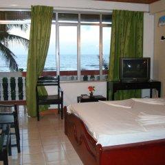 Отель Topaz Beach Шри-Ланка, Негомбо - отзывы, цены и фото номеров - забронировать отель Topaz Beach онлайн комната для гостей фото 2