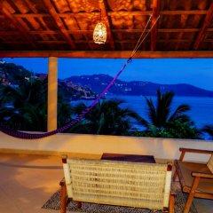 Отель Bungalows La Madera Мексика, Сиуатанехо - отзывы, цены и фото номеров - забронировать отель Bungalows La Madera онлайн гостиничный бар