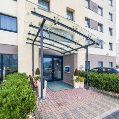 Отель Holiday Inn Express Köln-Mülheim Германия, Кёльн - 10 отзывов об отеле, цены и фото номеров - забронировать отель Holiday Inn Express Köln-Mülheim онлайн вид на фасад