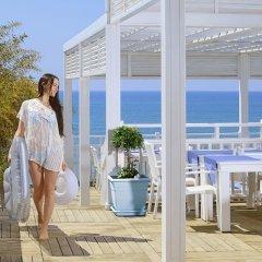 Can Garden Resort Турция, Чолакли - 1 отзыв об отеле, цены и фото номеров - забронировать отель Can Garden Resort онлайн пляж фото 2