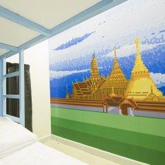 Pixellar Hostel Бангкок балкон