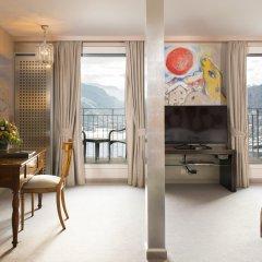 Carlton Hotel St Moritz комната для гостей