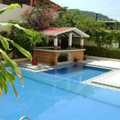 Отель Casa Azul бассейн