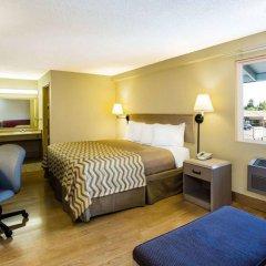 Отель Travelodge by Wyndham Tacoma Near McChord AFB США, Такома - отзывы, цены и фото номеров - забронировать отель Travelodge by Wyndham Tacoma Near McChord AFB онлайн комната для гостей фото 4