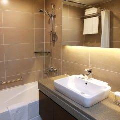 Отель Skypark Kingstown Dongdaemun Южная Корея, Сеул - отзывы, цены и фото номеров - забронировать отель Skypark Kingstown Dongdaemun онлайн ванная фото 2