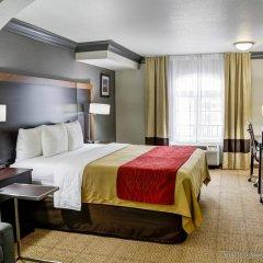 Отель Comfort Inn And Suites Near Universal Studios Лос-Анджелес комната для гостей фото 4
