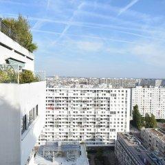 Апартаменты Top Floor 1 Bedroom Apartment Near Gare de Lyon балкон
