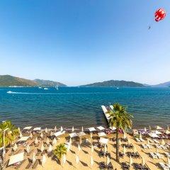 Honeymoon Hotel Турция, Мармарис - отзывы, цены и фото номеров - забронировать отель Honeymoon Hotel онлайн приотельная территория