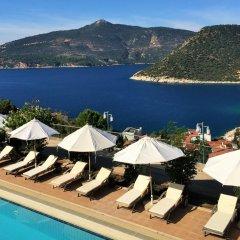 Happy Hotel Kalkan Турция, Калкан - отзывы, цены и фото номеров - забронировать отель Happy Hotel Kalkan онлайн пляж
