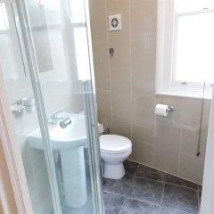 Апартаменты London Euston Luxury Apartments Лондон ванная