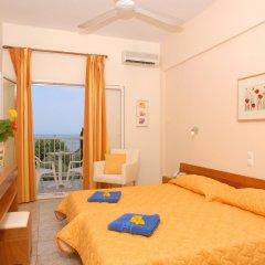 Ipsos Beach Hotel комната для гостей