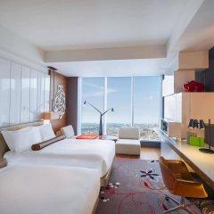 Отель W Taipei Тайвань, Тайбэй - отзывы, цены и фото номеров - забронировать отель W Taipei онлайн комната для гостей