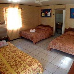 Отель Pension Justine Французская Полинезия, Тикехау - отзывы, цены и фото номеров - забронировать отель Pension Justine онлайн комната для гостей
