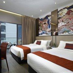 Hotel Boss Сингапур комната для гостей