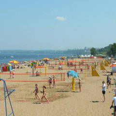 Гостиница Волга пляж