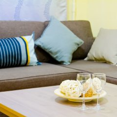 Апартаменты Lakshmi Apartment Krasnye Vorota комната для гостей фото 3