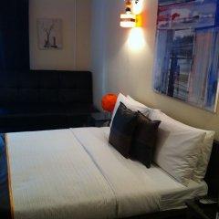Отель Hostal Oxum Мадрид комната для гостей фото 5