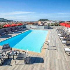 Отель Novotel Nice Centre Франция, Ницца - 2 отзыва об отеле, цены и фото номеров - забронировать отель Novotel Nice Centre онлайн бассейн фото 3