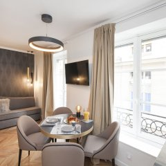 Апартаменты Odeon Saint Germain Apartments комната для гостей фото 5