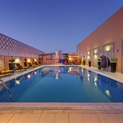 Abidos Hotel Apartment, Dubailand бассейн фото 2