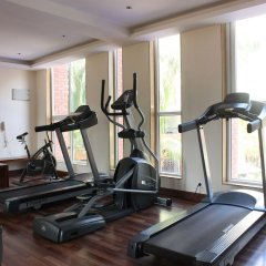 Апартаменты OYO 11963 Home Cozy Studio Arpora Гоа фитнесс-зал