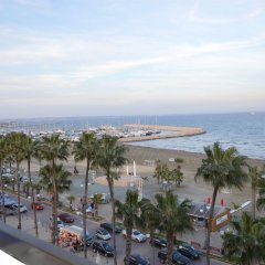 Les Palmiers Beach Hotel in Larnaca, Cyprus from 124$, photos, reviews - zenhotels.com beach photo 2