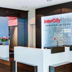 Отель InterCityHotel Hamburg Altona интерьер отеля