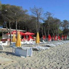 Отель Marea Resort Албания, Голем - отзывы, цены и фото номеров - забронировать отель Marea Resort онлайн пляж фото 2