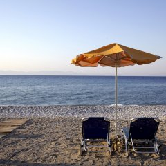 Отель Sunshine Rhodes пляж фото 2