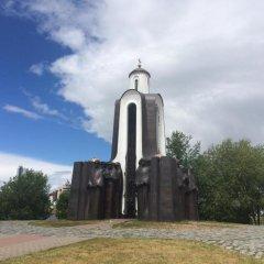 Отель Guide of Minsk Ploschad Pobedy Минск приотельная территория