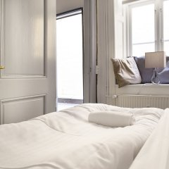 Апартаменты Spacious Apartments in Copenhagen Centre комната для гостей фото 5