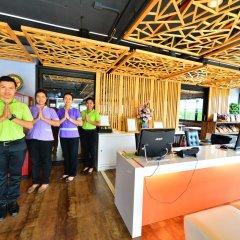 Отель Modern Thai Suites Таиланд, Пхукет - отзывы, цены и фото номеров - забронировать отель Modern Thai Suites онлайн гостиничный бар
