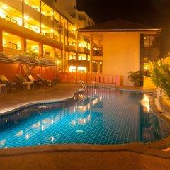 Отель Kata Silver Sand Hotel Таиланд, Пхукет - отзывы, цены и фото номеров - забронировать отель Kata Silver Sand Hotel онлайн бассейн