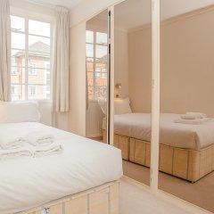 Апартаменты Bright 2 Bedroom Apartment Near Regents Park комната для гостей фото 3