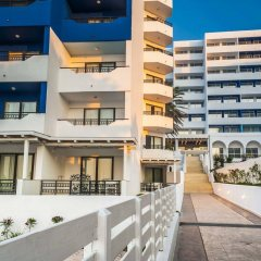 Апартаменты Ammades Epsilon Apartments балкон