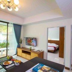Отель Baan Karon Resort 3* Стандартный номер с различными типами кроватей фото 3