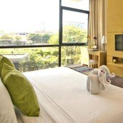 Отель At Mind Serviced Residence Pattaya балкон