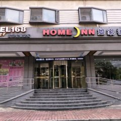 Отель Motel 168 Zhongshan Xinzhong Road Inn вид на фасад фото 2