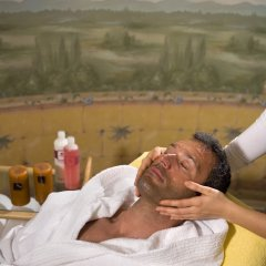 Отель Terme Firenze Италия, Абано-Терме - отзывы, цены и фото номеров - забронировать отель Terme Firenze онлайн балкон
