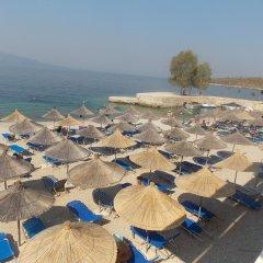 Отель Kompleks Joni Албания, Саранда - отзывы, цены и фото номеров - забронировать отель Kompleks Joni онлайн пляж фото 2