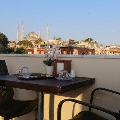 My Holiday Time Hotel Стамбул балкон