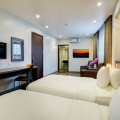 Отель My Linh Hotel Вьетнам, Ханой - отзывы, цены и фото номеров - забронировать отель My Linh Hotel онлайн комната для гостей фото 3