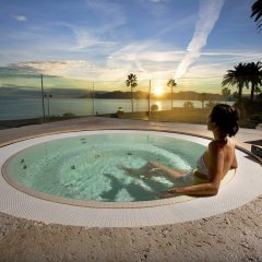 Отель Radisson Blu 1835 Hotel & Thalasso, Cannes Франция, Канны - 2 отзыва об отеле, цены и фото номеров - забронировать отель Radisson Blu 1835 Hotel & Thalasso, Cannes онлайн бассейн фото 3
