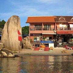Отель Narakarn Hostel Таиланд, Остров Тау - отзывы, цены и фото номеров - забронировать отель Narakarn Hostel онлайн пляж фото 2