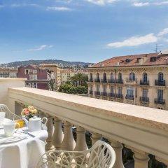 Отель Boscolo Exedra Nice, Autograph Collection Франция, Ницца - 9 отзывов об отеле, цены и фото номеров - забронировать отель Boscolo Exedra Nice, Autograph Collection онлайн балкон