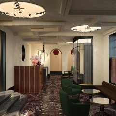 Отель du Rond-Point des Champs Elysees Франция, Париж - 1 отзыв об отеле, цены и фото номеров - забронировать отель du Rond-Point des Champs Elysees онлайн интерьер отеля