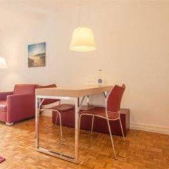Апартаменты EMA house Serviced Apartments, Unterstrass Цюрих комната для гостей фото 4