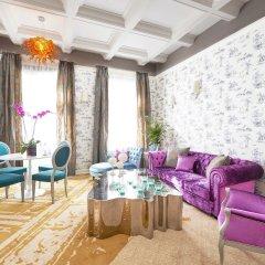 Aria Hotel Budapest интерьер отеля
