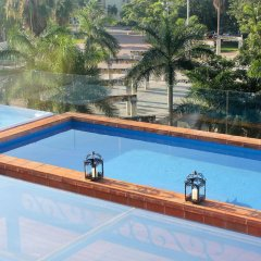 Отель La Pasion Hotel Boutique Мексика, Плая-дель-Кармен - отзывы, цены и фото номеров - забронировать отель La Pasion Hotel Boutique онлайн бассейн фото 2