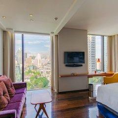 Отель Indigo Bangkok Wireless Road Бангкок комната для гостей фото 5